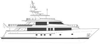 yacht event layout layout general arrangement plans westport 130 m y 40m