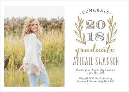 commencement announcements 2018 graduation announcements invitations for high school and