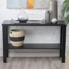 White Entry Table by Sofa Tables