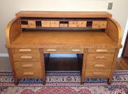old desks for sale craigslist 1917 quarter sawn oak roll top desk score on portland craigslist