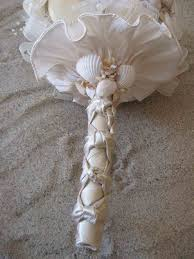 wedding bouquets with seashells wedding bouquet seashell green weddings
