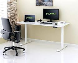 eureka ergonomic height adjustable standing desk height adjustable standing desk wide platform height adjustable