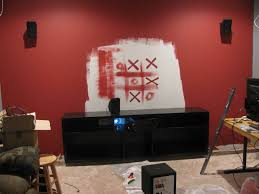 Red Accent Wall by Rustic Glam Wall Paint Mama U0027s Tipsy Sippy