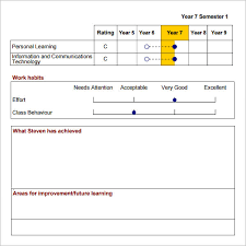 improvement report template sle report card 10 documents in word excel pdf