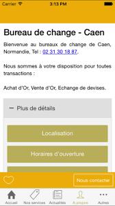 bureau de change caen on the app store