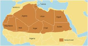africa map deserts which countries does the desert cover quora