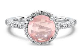 pink wedding rings the meaning of colored gemstone engagement rings ritani