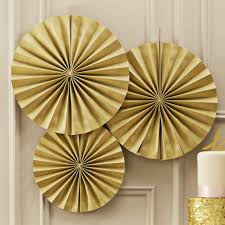 circle fan pinwheel decorations gold sparkle pastel perfection