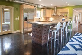 Concrete Reception Desk Reception Desk Design Kitchen Modern With Stained Concrete Floor