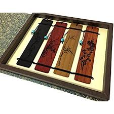 Handmade Wooden Gifts - unique gifts olina handmade wood bookmark