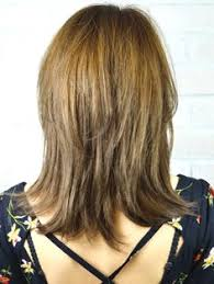 medium length hair styles from the back view medium length layered hairstyles back view google search
