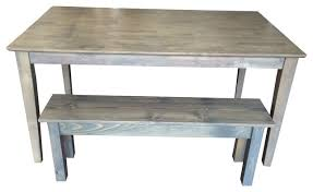 Driftwood Outdoor Furniture by Driftwood Grey Shaker Table Farmhouse Dining Benches By