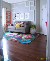 Rugs Ysa Bright Floral And Colorful Rug All Things Thrifty