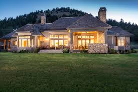 french country home design by central oregon custom home designer