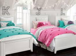 hampton crinkle puff bedroom pbteen