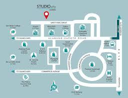 studio city map studio city filinvest