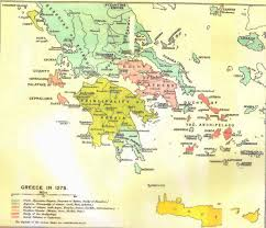 Byzantine Empire Map A Slower Twilight 14th Century Byzantine Empire And The Balkans