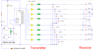 multi wire cable tester circuit diagrams