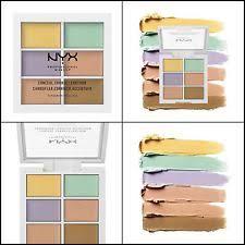nyx colour correcting concealer palette nyx cosmetics color correcting palette 3cp04 ebay