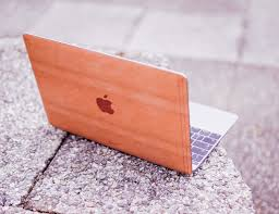 cherry for macbook 12 handmade cherry wood cover made in usa