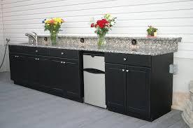 outdoor kitchen base cabinets kitchen black outdoor kitchen cabinet with granite top outdoor