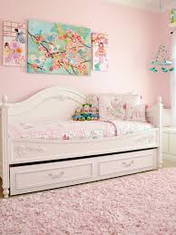 girls purple bedding bedroom white trundle daybed with purple bedding and pillows plus