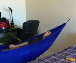 how to hang a hammock indoors 5 steps
