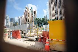worker dies after excavator bucket falls on him singapore news