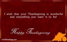 thanksgiving wish for your buddy free friends ecards greeting