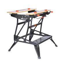 husky adjustable work table black decker wm workmate pound capacity portable work pictures on