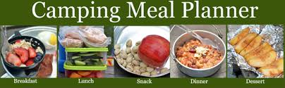 healthy camping meal plan recipes and shopping list healthy