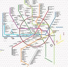 Moscow Map The Making Of The Moscow Metro Map 2 0