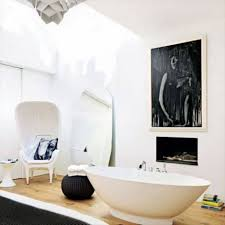 Free Standing Contemporary Bathtub Bathroom With Marble Tiles And Freestanding Bathtub Mesmerizing