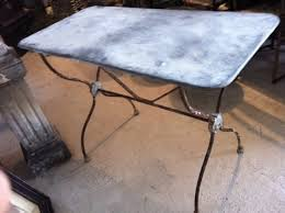 Industrial Bistro Table Fancy Zinc Top Bistro Table Marble Top Bistro Table