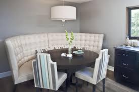 Upholstered Banquette Modern Banquette Dining Set Photo U2013 Banquette Design