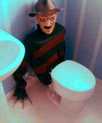 themed toilet seats it s a dan s world nightmare on elm seat the toilet that proves