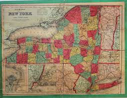 Suffolk County Map Print By Clemens U0027 Silent Teacher Dissected Map Of The United States And
