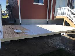 how to build a floor for a house to build a simple diy deck on a budget