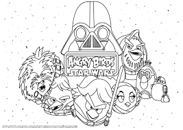 28 star wars angry birds coloring pages angry birds star