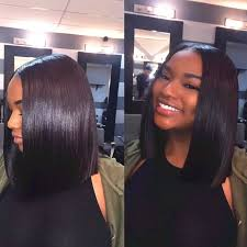 best hair to use for a bob best 25 middle part bob ideas on middle part sew in