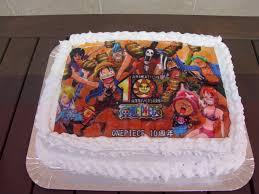 One Piece Birthday Cake By 0oayzamio0 On Deviantart
