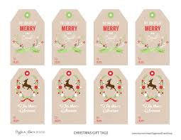 christmas gift tag freebies giggles and grace design