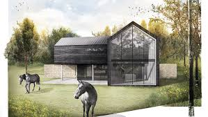 House Modern Design by Meadow House Modern Residential New Build Contemporary Winchester
