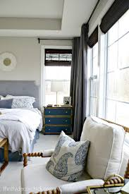 our soothing master bedroom tour from thrifty decor