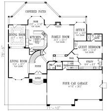 adobe southwestern style house plan 3 beds 3 00 baths 5119 sq