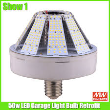 led garage light bulbs 50w led garage light bulb retrofit