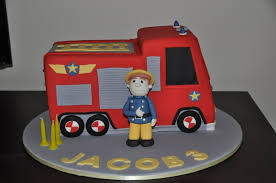 firetruck cake truck cakes decoration ideas birthday cakes