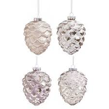 glass pinecone ornament wayfair