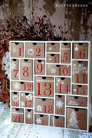 advent calendar silhouette cameo advent calendar whipperberry