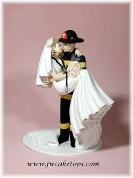 firefighter cake toppers firefighter wedding cake toppers wedding corners